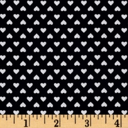 Kaufman Sevenberry Classiques Small Hearts Navy Fabric