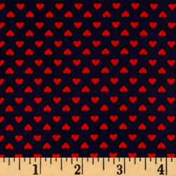 Kaufman Sevenberry Classiques Small Hearts Americana Fabric