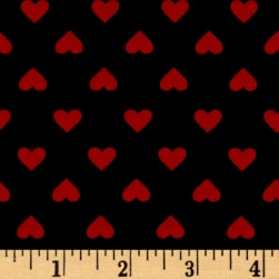Kaufman Sevenberry Classiques Med Hearts Americana Fabric