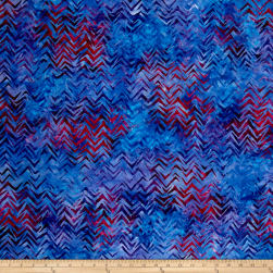 Kaufman Batiks To The Point Diagonal Wild