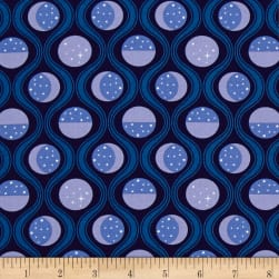 Luna Sol Lunar Tide Midnight Fabric