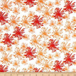 Handmaker Sparkle Pumpkin Fabric
