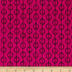Handmaker Furrows Berry Fabric