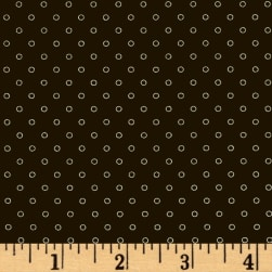 Candy Land Dots Liquorice Fabric