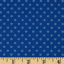 Candy Land Dots Blueberry Fabric