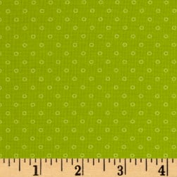 Candy Land Dots Sour Apple Fabric