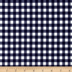 Maribel Check Navy Fabric