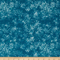 Frosty Fun Tonal Teal Fabric