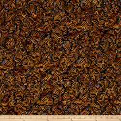 Timeless Treasures Batik Tonga Chai Faux Painting Black