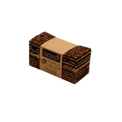 "Timeless Treasures Tonga Batik  6"" Strip Packs Chai"