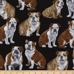 Timeless Treasures English Bulldogs Bulldog