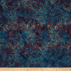 Timeless Treasures Batik Tonga Sophisticate Ikat Tide Fabric