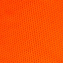 Athletic Mesh Knit Neon Orange Fabric