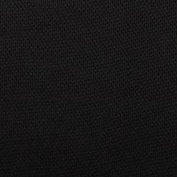 Athletic Mesh Knit Black Fabric