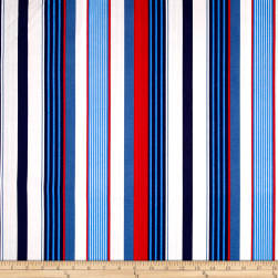 Michael Miller Yacht Club Starboard Stripe Sailor Fabric