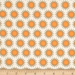Kaufman Paintbox Pacific Sunburst Mango Fabric