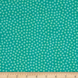Kaufman Paintbox Rhoda Ruth Buds Aloe Fabric