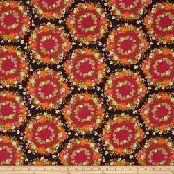 Michael Miller Strawberry Moon Clover Crown Berry Fabric