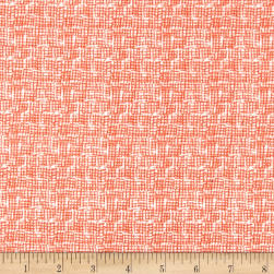 Dear Stella Intermix Flannel Net Orange
