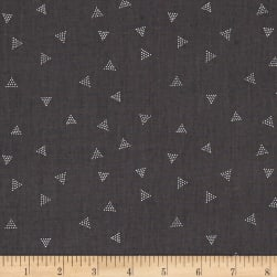 Dear Stella City Life Triangle Dot Fossil Fabric