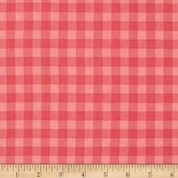 Stitcher's Garden Large Gingham Strawberry Fabric
