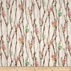 Oasis Metallic Desert Breeze Thistle Fabric