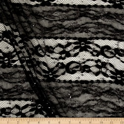 Telio Adrianna Lace Black Fabric