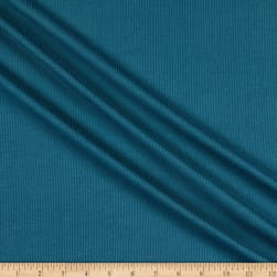 Telio Melange Rib Knit Blue Fabric