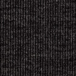 Telio Melange Rib Knit Grey Fabric