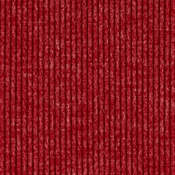 Telio Melange Rib Knit Red Fabric