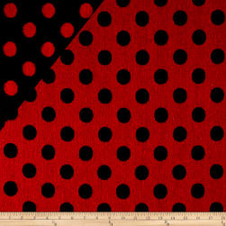Telio Wool Polka Dot Black/Red
