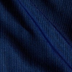 Telio Denim Pin Stripes Dark Blue Fabric