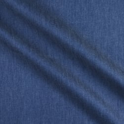Telio 4.8 oz Denim Chambray Medium Blue Fabric