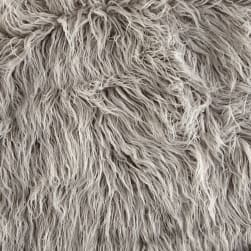 Shannon Luxury Faux Fur Curly Yak Vapor Fabric
