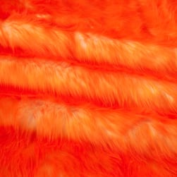 Shannon Luxury Faux Fur Candy Shag Orange