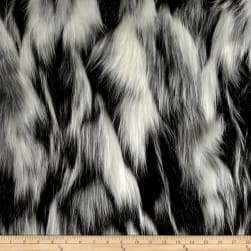 Shannon Lux Fur Tibetan Sand Fox White/Pewter Fabric