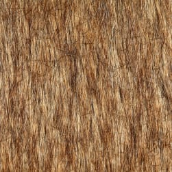 Shannon Lux Fur Tip Dyed Fox Gold Fabric
