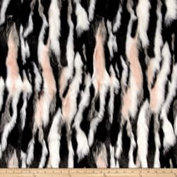 Shannon Luxury Faux Fur Himalaya Pink Frost Fabric