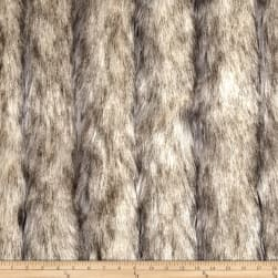 Shannon Luxury Faux Fur Wild Coyote Stone