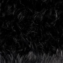 Shannon Lux Fur Falcon Black/Black Fabric