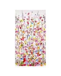 Mystic Meadow Digital Print Floral Border Spring Fabric