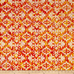 Indian Batik Sierra Nevada Southwest Cream Fabric