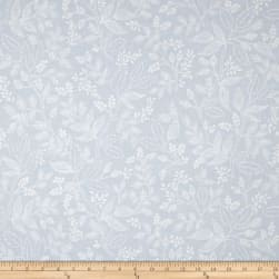Cotton + Steel Rifle Paper Co. Les Fleurs Queen Anne Pale Blue