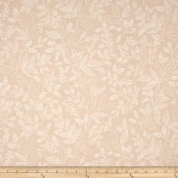 Cotton + Steel Rifle Paper Co. Les Fleurs Queen Anne Peach
