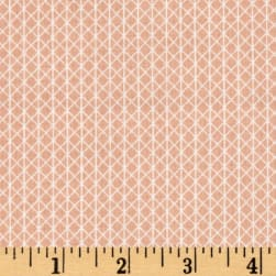 Cotton + Steel Basic Netorious Anna Peach Fabric