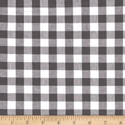"Cotton + Steel Checkers Yarn Dyed Woven 1/2"" Chalkboard"