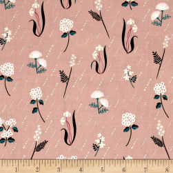 Cotton + Steel Raindrop In Bloom Dusk Fabric