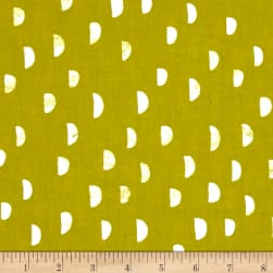 Cotton + Steel Printshop Moons Grass Fabric