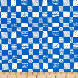 Cotton + Steel Printshop Grid Blue