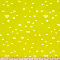 Cotton + Steel Printshop Meadow Citrus